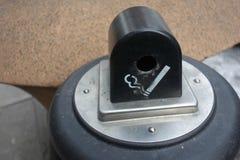 Zigarettenkippe-Behälter Stockfotos