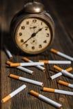 Zigarettenkonzept Lizenzfreies Stockfoto