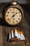 Zigarettenkonzept Stockbild