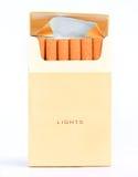 Zigarettensatz Stockfotografie