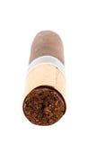 Zigarre auf dem Weiß Lizenzfreie Stockfotos