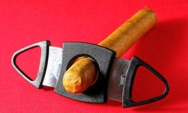 Zigarre Kubaner-Browns Havan stockbild