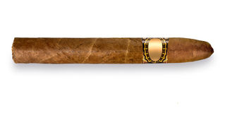 Zigarre mit Band Lizenzfreie Stockfotografie