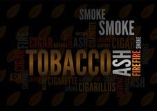 Zigarre tagcloud Stockfoto