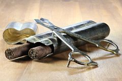 zigarren lizenzfreie stockbilder