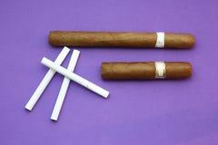 Zigarren/Zigaretten Stockbild