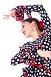 Zigensk dansare Royaltyfria Bilder