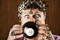Zigeuner, der die Zukunft voraussagt Stockbild