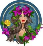 Zigeunermeisje Royalty-vrije Stock Afbeelding