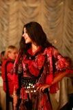 Zigeunermeisje Stock Afbeelding