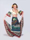 Zigeunertänzer lizenzfreie stockbilder