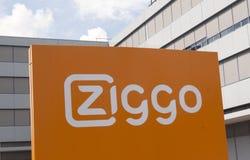 Ziggo Διαδίκτυο Στοκ Εικόνα
