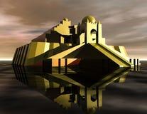 Ziggurat иллюстрация штока