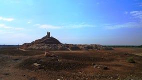 Ziggurat Birs Nimrud góra Borsippa, Irak zdjęcia royalty free