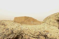 Ziggurat d'Ur Images libres de droits