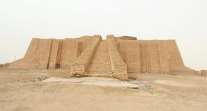 Ziggurat de Ur foto de archivo libre de regalías