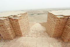 Ziggurat of Ur Stock Image