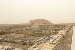 Ziggurat of Ur Stock Photography