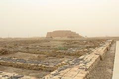 Ziggurat van Ur Stock Fotografie