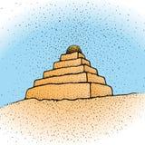 Ziggurat (vector) Royalty-vrije Stock Fotografie