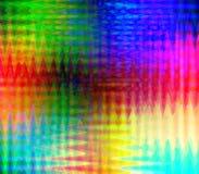 Ziguezague colorido Fotografia de Stock
