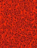 Ziguezagues - teste padrão sem emenda ilustração royalty free