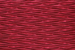 Ziguezagues vermelhos de seda Imagens de Stock