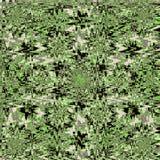Zigzag abstract Patroon in groene kleur Royalty-vrije Stock Afbeeldingen