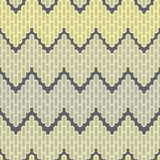 Zigzag abstract seamless pattern. Abstract decorative seamless pattern - yellow gradation Royalty Free Stock Image