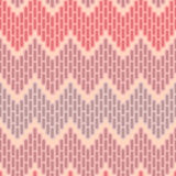 Zigzag abstract seamless pattern. Abstract decorative seamless pattern - pink gradation Royalty Free Stock Photography