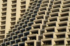 Zigzag architecture Royalty Free Stock Images