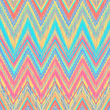 Zigzag azteca Imagen de archivo