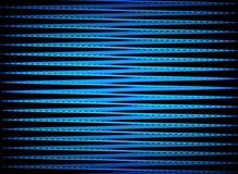 Zigzag in azzurro illustrazione di stock
