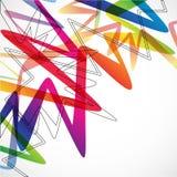 Zigzag background Stock Images