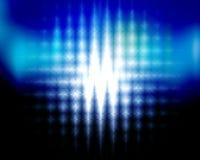 Zigzag blast. Blue abstract zigzag blast background Royalty Free Stock Photo