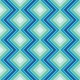 Zigzag bleu Photos stock