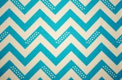 Zigzag blu Fotografia Stock Libera da Diritti
