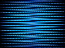 Zigzag in Blue Stock Photography