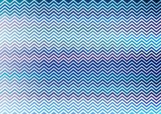 Zigzag blue pattern wallpaper Stock Images