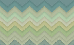 Zigzag chevron 3d pattern background. Vector illustration Royalty Free Stock Images