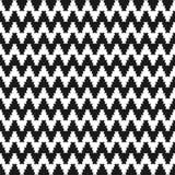 Zigzag cloth pattern - seamless. Stock Photos