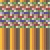 Zigzag coloreado Imágenes de archivo libres de regalías