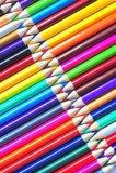 Zigzag (creyones coloreados) Fotos de archivo