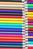 Zigzag (creyones coloreados) Foto de archivo libre de regalías