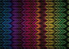 Zigzag de Vert Photo stock