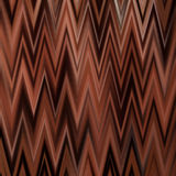 Zigzag del cioccolato Immagini Stock