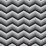 Zigzag di Black&white Fotografia Stock Libera da Diritti