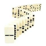 Zigzag from domino tiles i Stock Photos