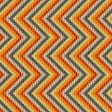 Zigzag geometric pattern Royalty Free Stock Image