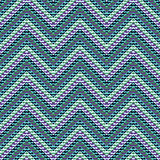 Zigzag geometric pattern Stock Photography